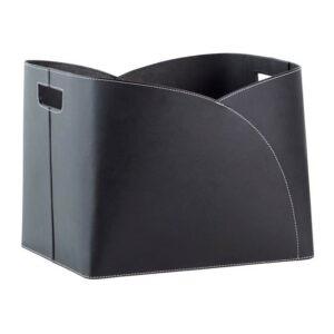 Brændekurv kuvert genbrugslæder