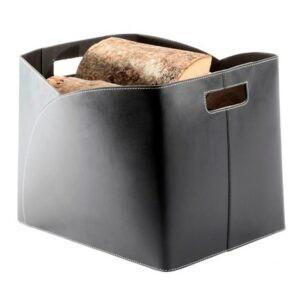 Brændekurv kuvert økolæder