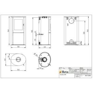 HETA Scan-Line 800 med sideglas måltegning