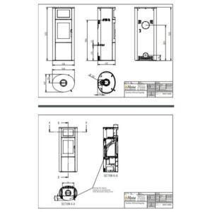 HETA Scan-Line 820W bagefag med sideglas måltegning (1)