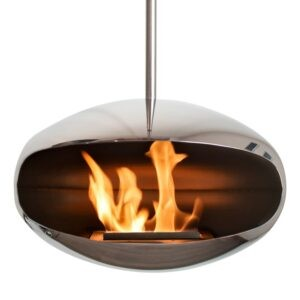 Cocoon Fires Aeris Rustfri Stainless