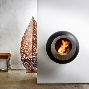 Cocoon Fires Vellum Sort/Rustfri