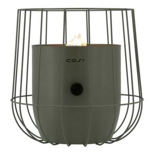 Cosiscoop Basket i oliven set forfra