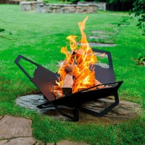 DesignFires fire pit Grill